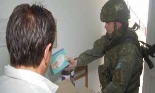 Խաղաղապահները 50 բժշկական պարագա են հանձնել Արցախի հեռավոր բնակավայրերի բուժկետերին