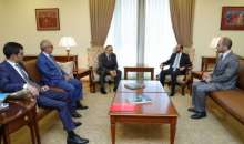Meeting of Foreign Ministers of the Republic of Artsakh and the Republic of Armenia
