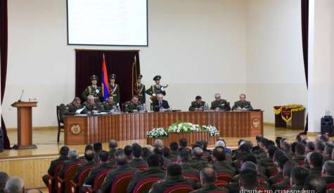 Meeting of the Defense Army Military Council