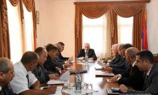 Рабочее совещание, посвященное вопросам проведения стратегических военных учений