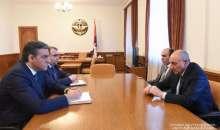 Встреча с омбудсменом Республики Армения Арманом Татояном