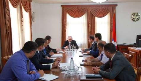 Президент Республики Арцах Бако Саакян провел рабочее совещание