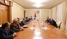 Встреча с делегацией Ереванского государственного медицинского университета