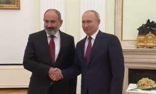 В Кремле стартовала встреча Путина и Пашиняна
