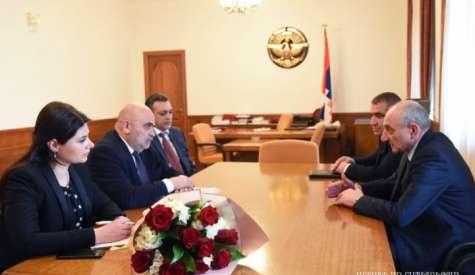 Встреча с делегацией Комиссии по телевидению и радио Армении