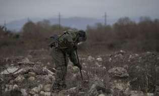РИА Новости: Миротворцы завершают разминирование северной окраины Степанакерта