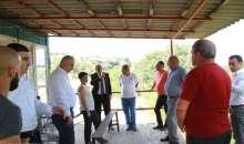 Президент  Бако Саакян посетил туристическую зону отдыха «Каркар» расположенную вблизи Степанакерта