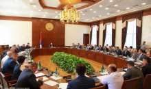 Состоялось заседание правительства
