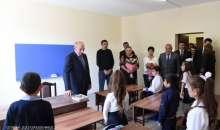 Посещение села Мошатаг Кашатагского района