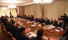Совместное заседание Советов безопасности двух армянских государств