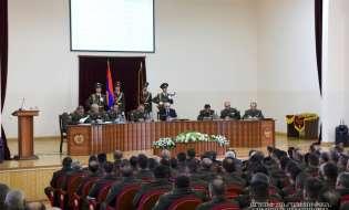 Заседание военного совета Армии обороны