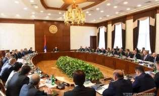 Заседание правительства под председательством Президента Республики Арцах